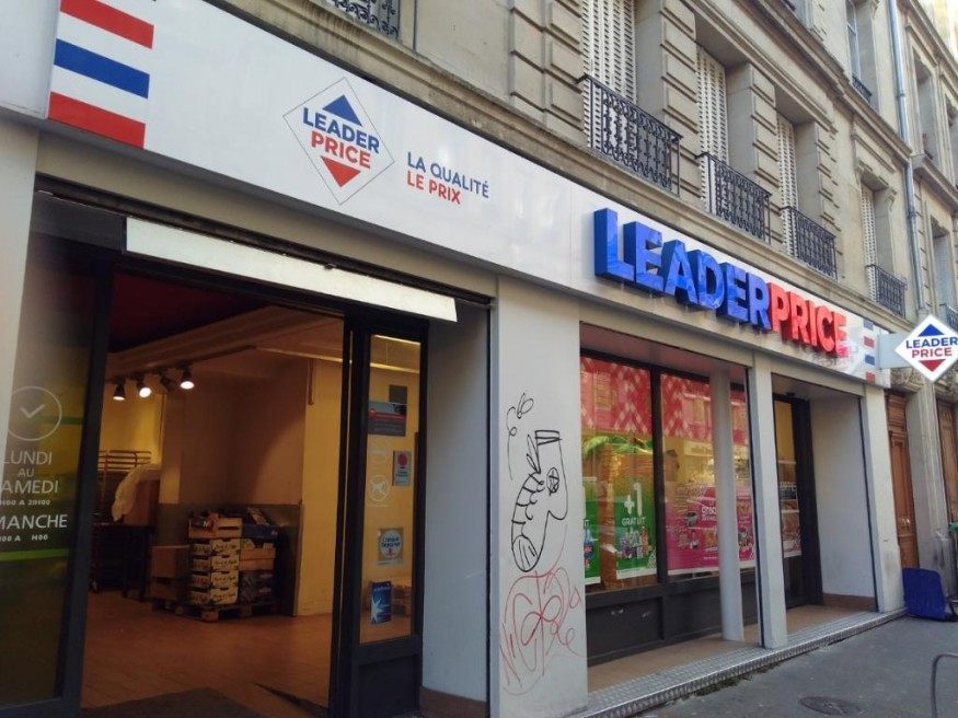 Courseur X Leader Price au cœur de Paris !