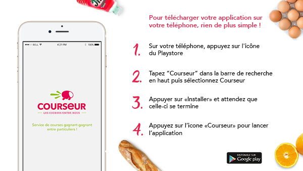Télécharger l'application Courseur